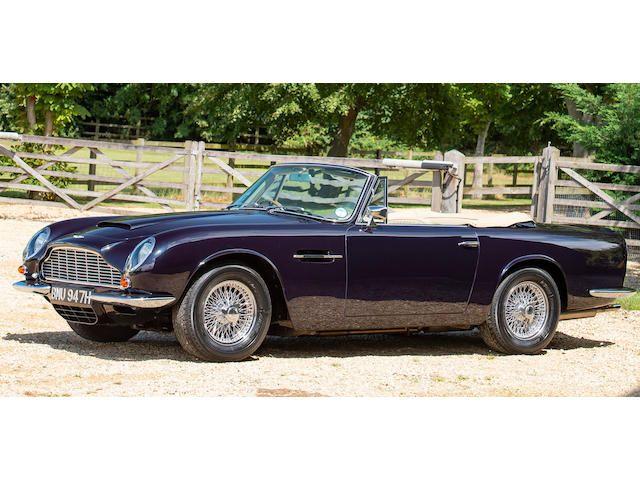 1969 Aston Martin DB6 Mark 2 Volante Convertible to Vantage Specification