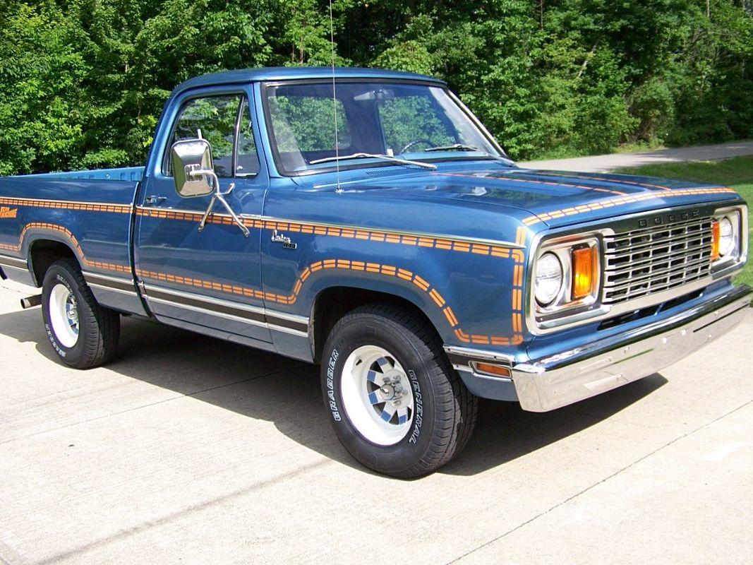 "1978 Dodge D100 Custom ""jean Machine"" Pickup"