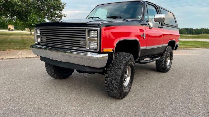1985 Chevrolet K5 Blazer 4 X 4