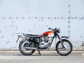 1966 Triumph 349CC Tiger 90