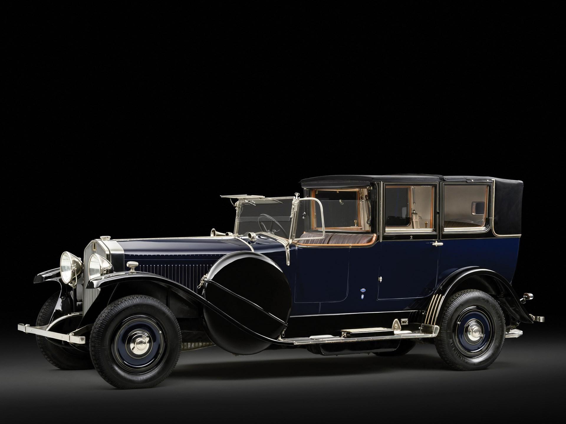 1924 Isotta Fraschini Tipo 8A Landaulet by Carrozzeria Sala