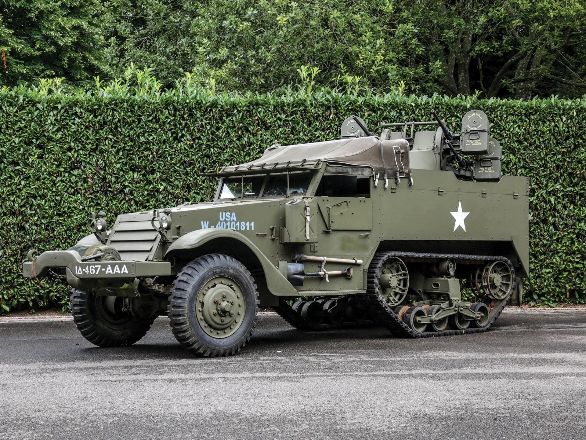 1943 White M16 Mgmc Half-Track