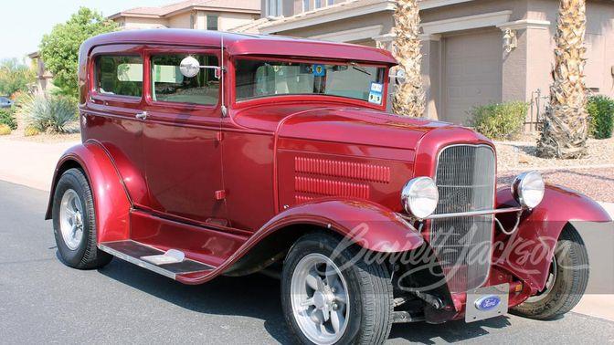 1931 Ford Model A Custom Sedan