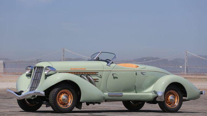 1935 Auburn 851 SC Boattail Speedster