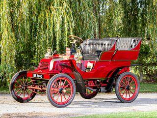 1904 Crestmobile  Model D 8½ Hp Four-Seater Rear-Entrance Tonneau