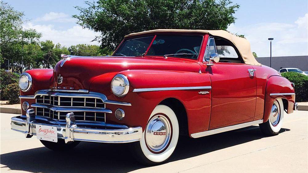 1949 Dodge Wayfarer Convertible