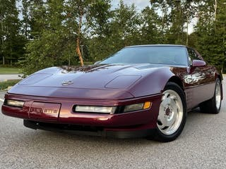 1993 Chevrolet Corvette 40TH Anniversary Coupe 6-Speed