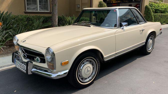 1969 Mercedes-Benz 280SL California Coupe