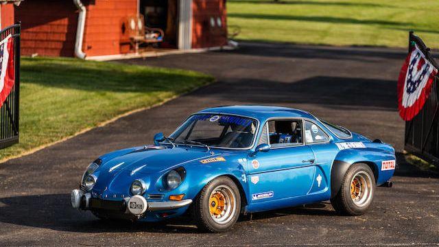 1971 Alpine A110 1600S Group Iv