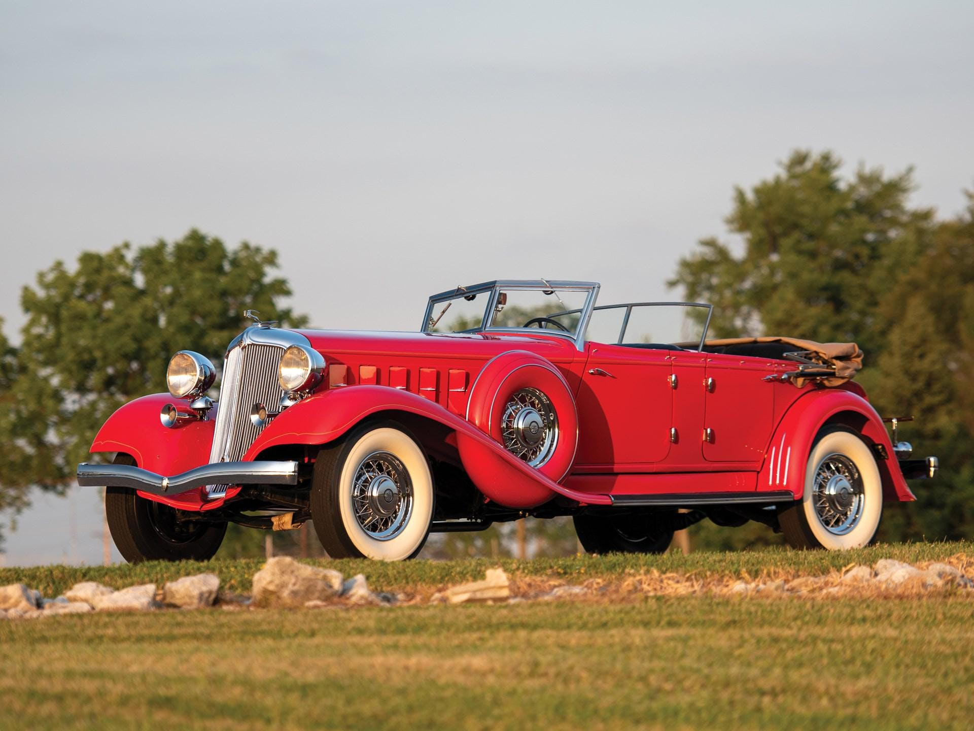 1933 Chrysler Cl Imperial Dual-Windshield Phaeton by LeBaron