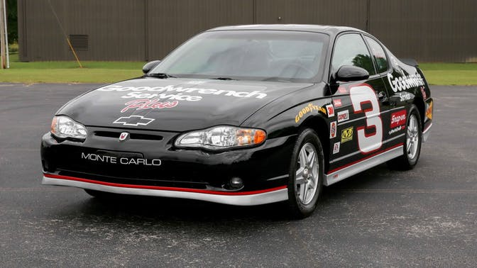 2002 Chevrolet Monte Carlo SS Earnhardt Edition