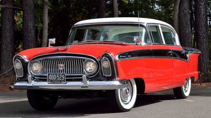 1956 Nash Ambassador Super Sedan