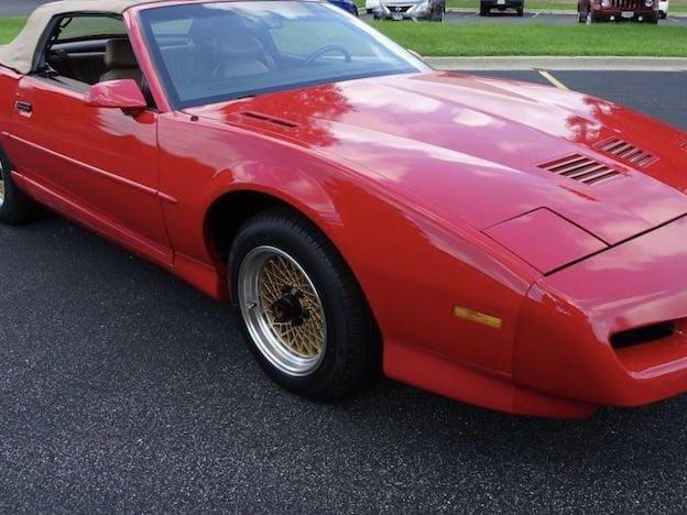 1992 Pontiac Trans Am Convertible
