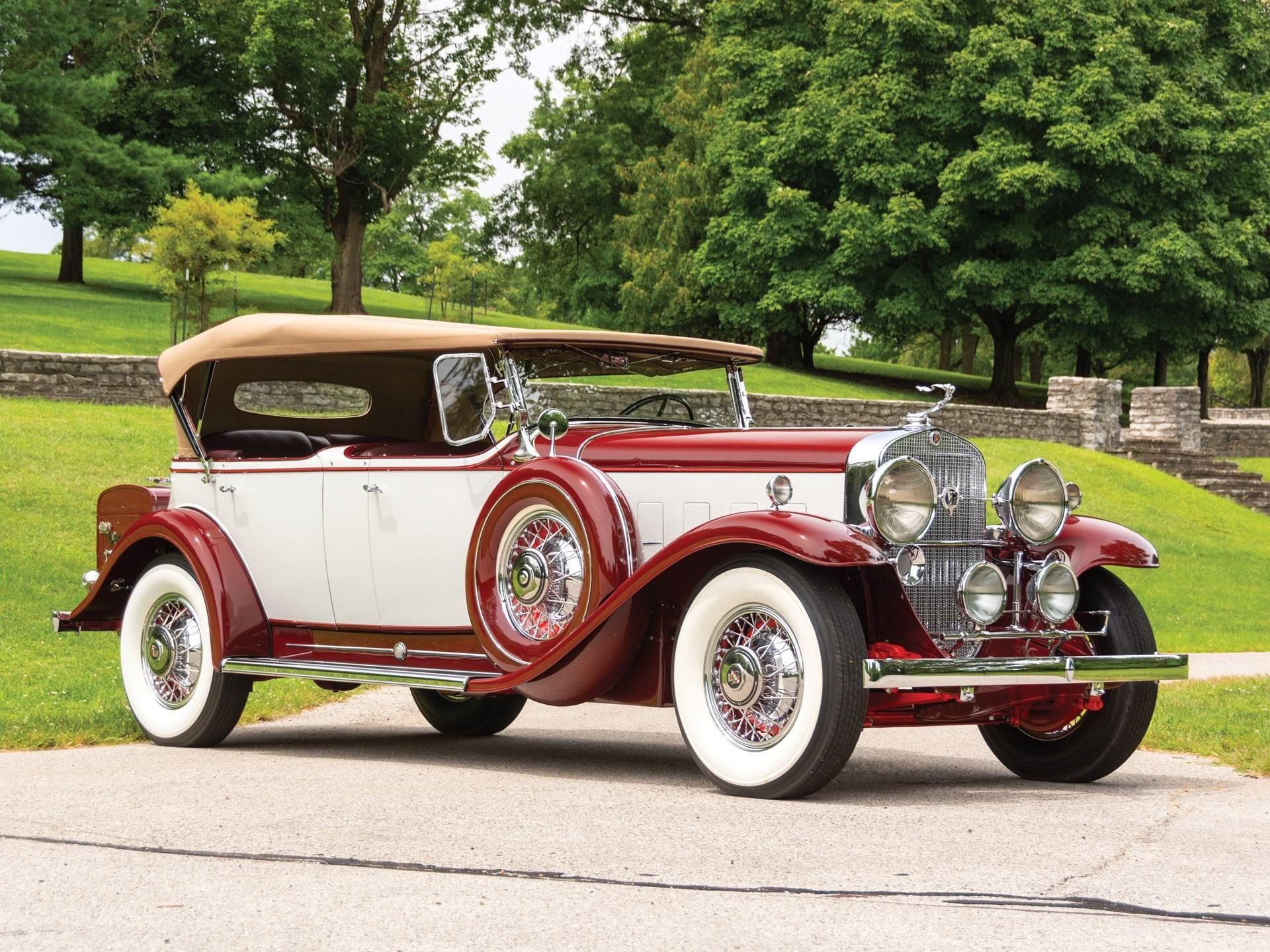 1931 Cadillac V-12 Phaeton by Fleetwood