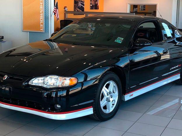 2002 Chevrolet Monte Carlo Earnhardt Edition