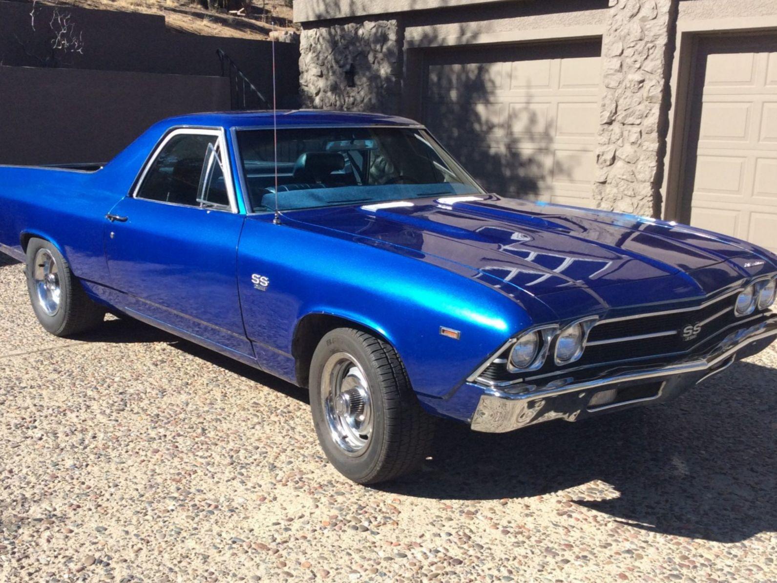 1969 Chevrolet El Camino SS 4-Speed