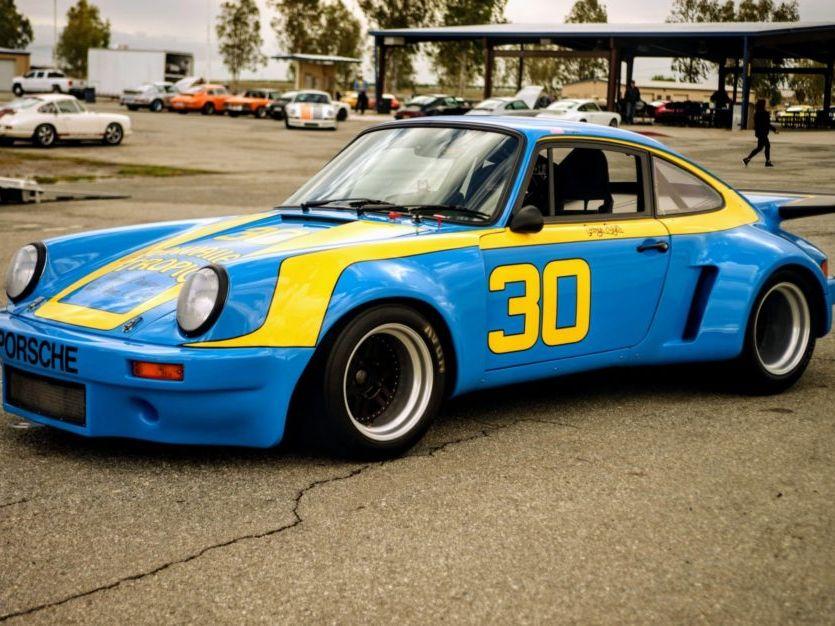 1969 Porsche 911T Imsa Rsr Tribute