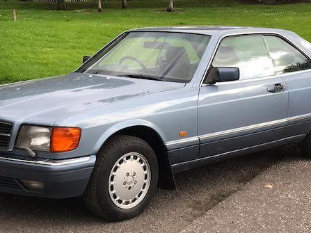 1989 Mercedes-Benz 500 Sec Automatic