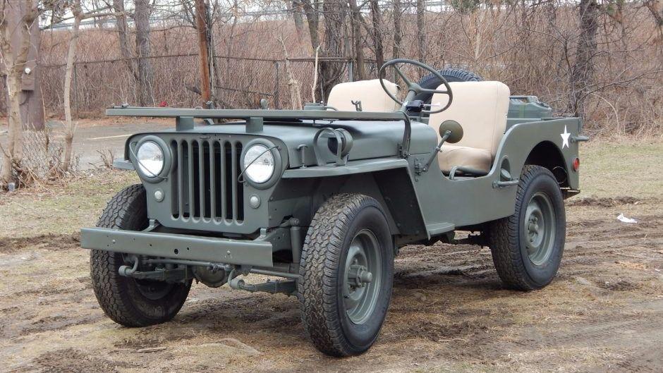Jeep Willys Overland Cj 3a 1953 Fur Eur 16 900 Kaufen