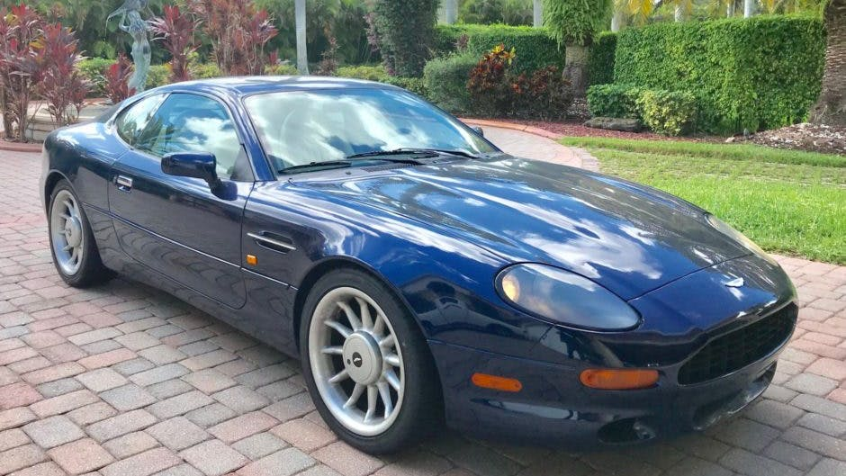 1997 Aston Martin Db7 Coupe Vin Scfaa2121vk101378 Classic Com