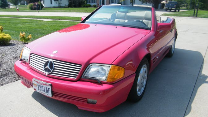 1994 Mercedes-Benz SL600 Convertible