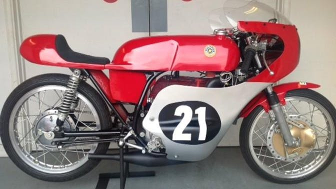 1969 Bultaco 125CC Tss Grand Prix Racing Motorcycle