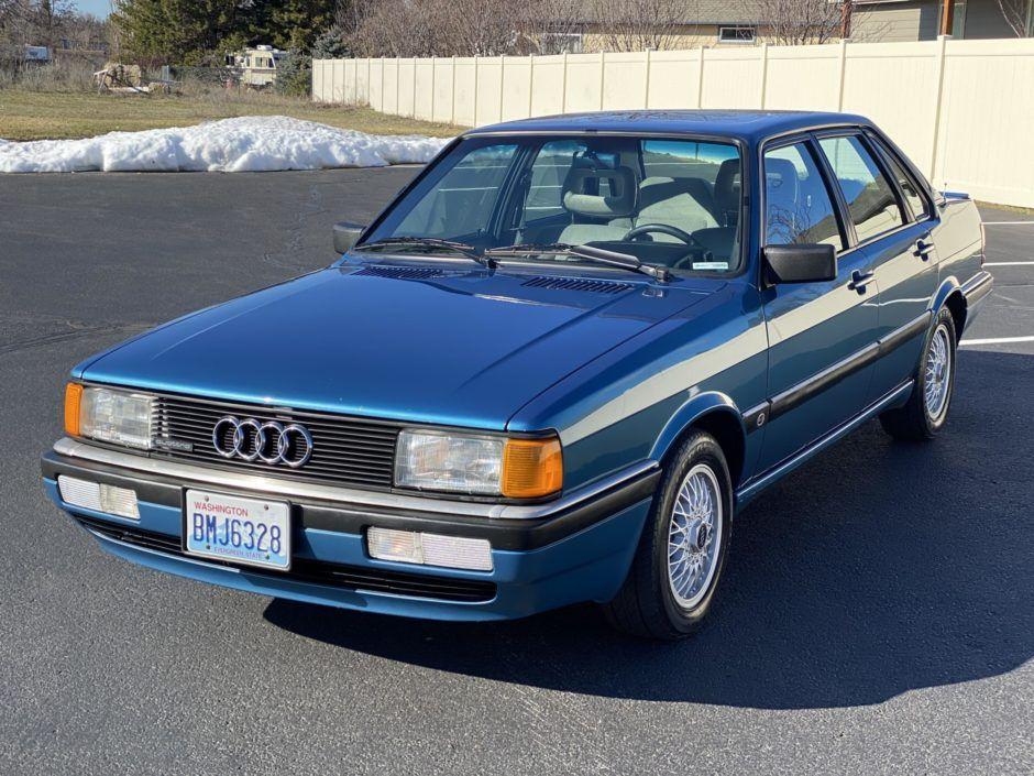 1986 Audi 4000 CS Quattro 5-Speed