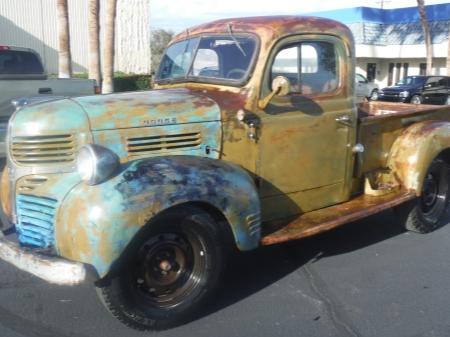1947 Dodge Wc Pick Up