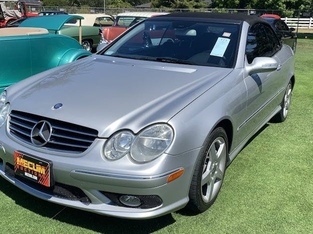 2005 Mercedes-Benz CLK500 Convertible