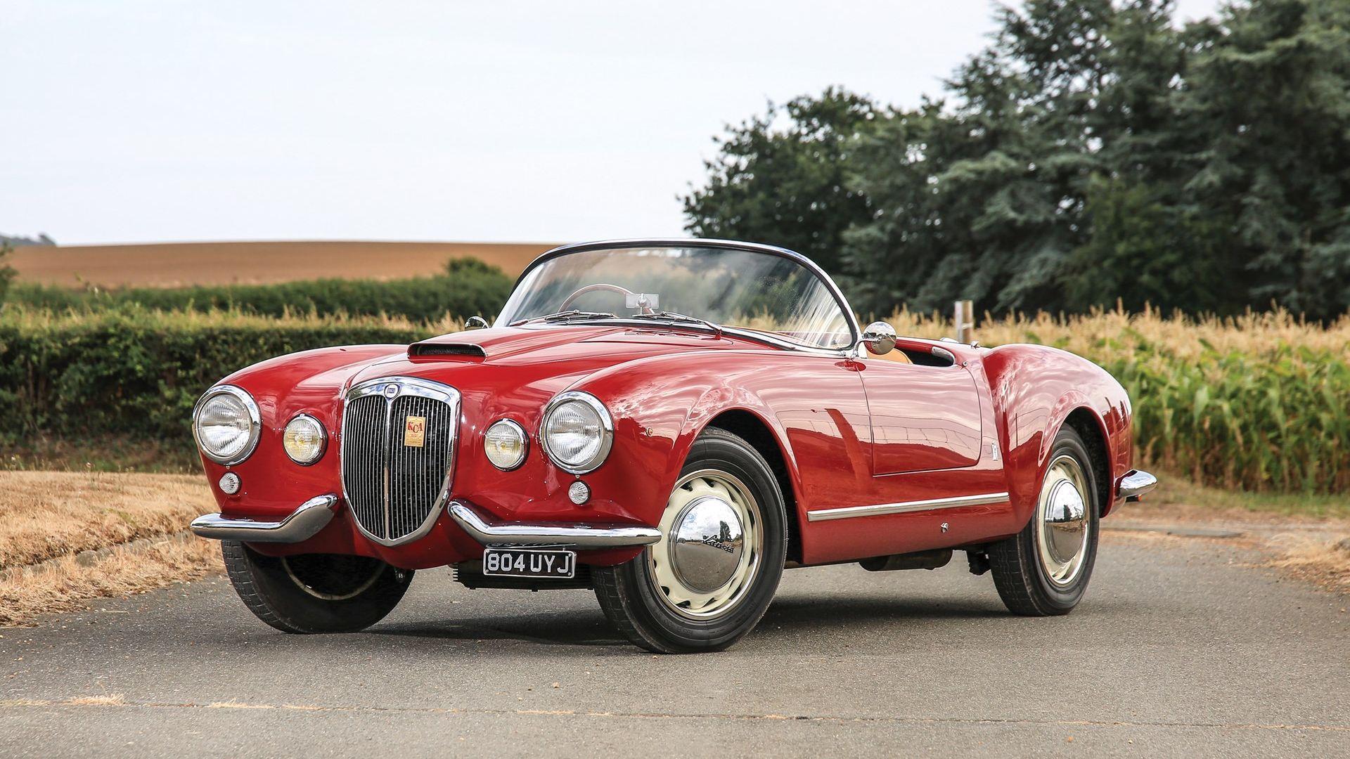 1955 Lancia Aurelia B24 Spider America by Pinin Farina