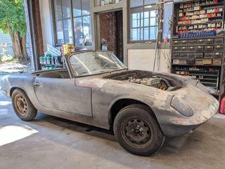 1965 Lotus Elan S2 Project