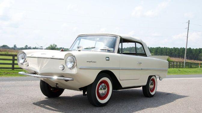 1966 Amphicar Model 770 Convertible