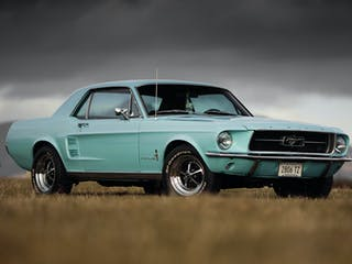 1967 Ford Mustang 289 Hardtop - LHD