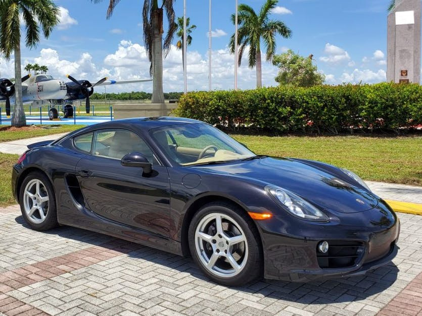 2014 Porsche Cayman 6-Speed