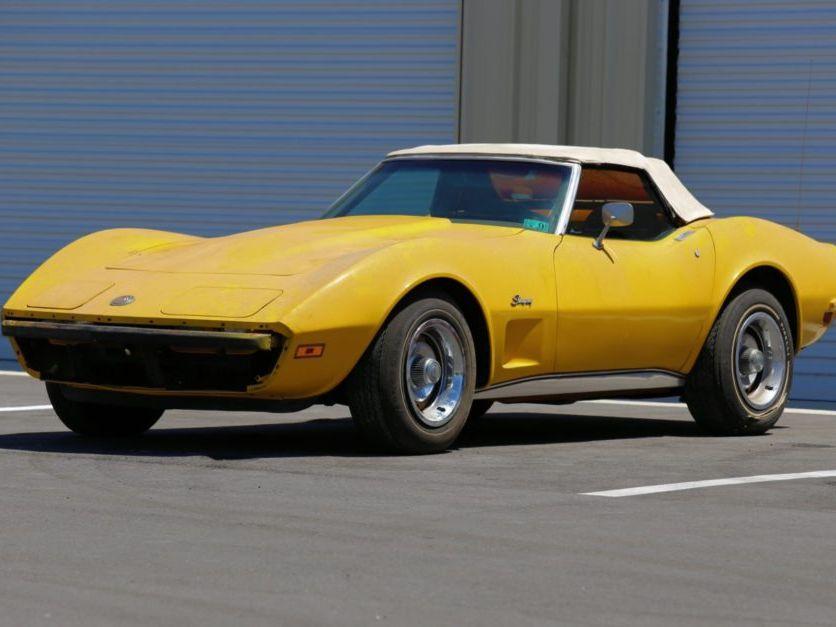 1973 Chevrolet Corvette Convertible L82 Project