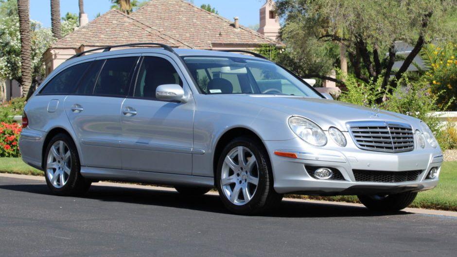 2007 Mercedes-Benz E350 4-Matic Wagon