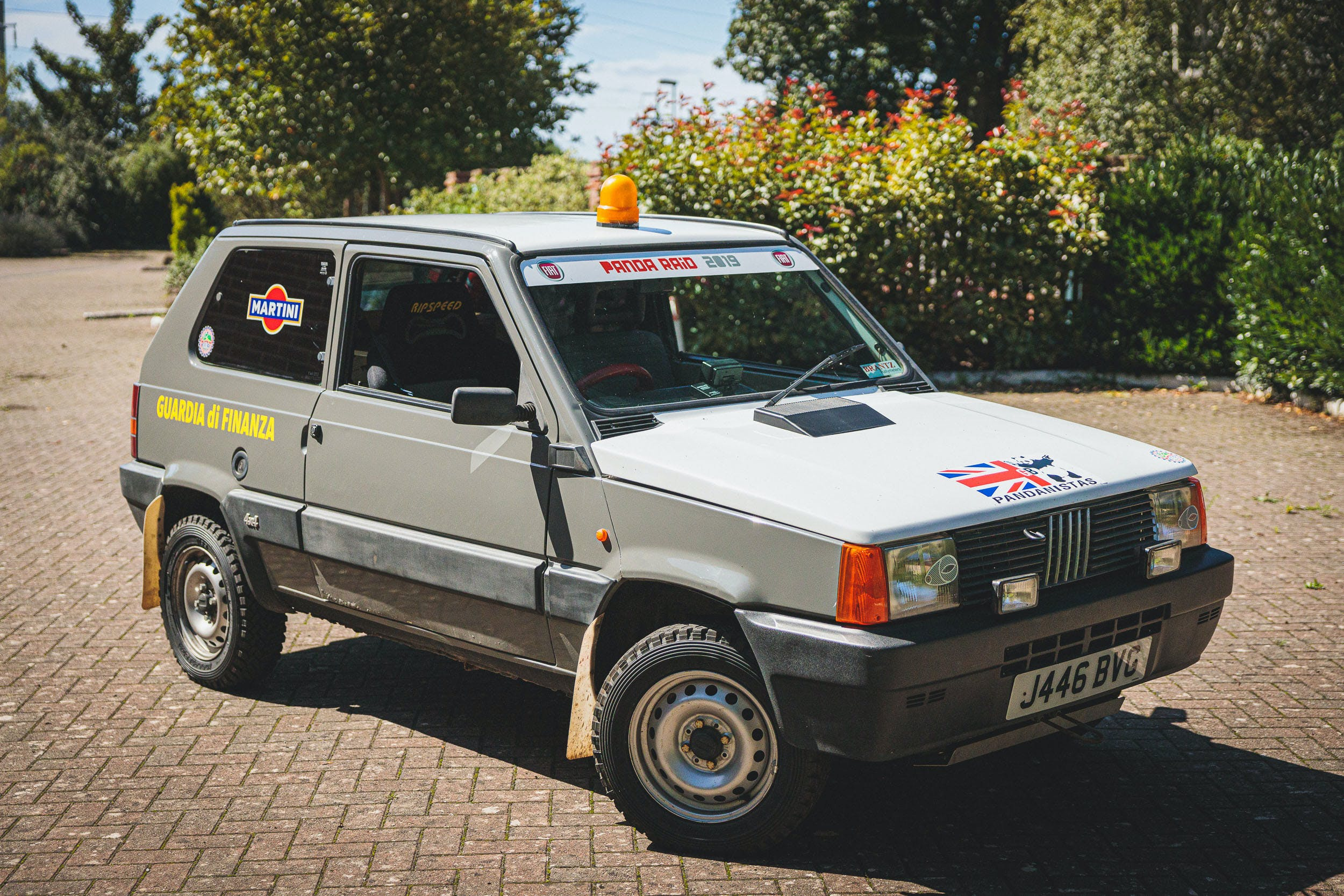 1991 Fiat Panda 4x4 Pandaraid Vin Zfa141a0004580187 Classic Com