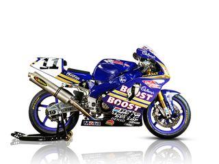 1995 Yamaha YZF750 Superbike Racing Motorcycle