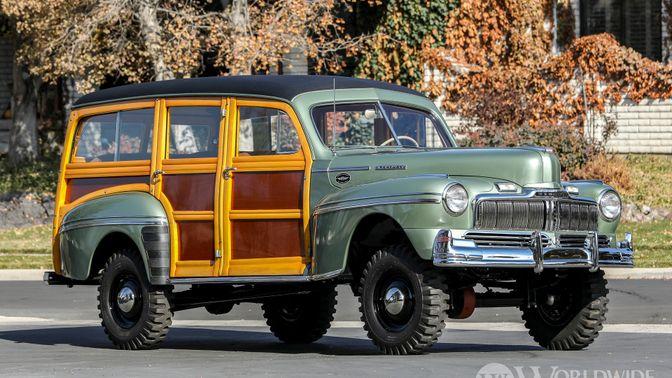 1947 Mercury Series 79M Marmon-Herrington 4X4 Station Wagon