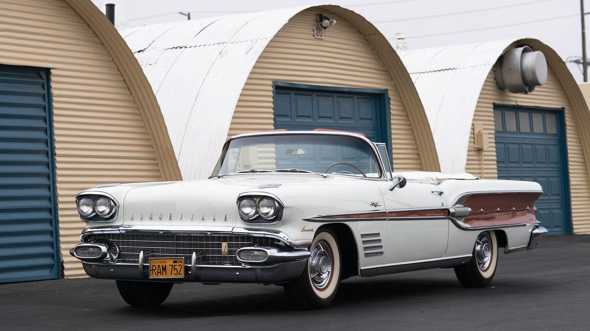 1958 Pontiac Bonneville Custom Convertible