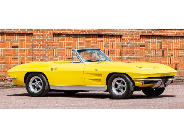 1963 Chevrolet Corvette Sting Ray Convertible