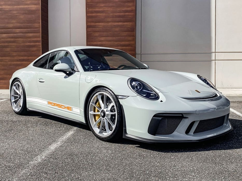 2018 Porsche 911 GT3 Touring Pts Dolphin Grey