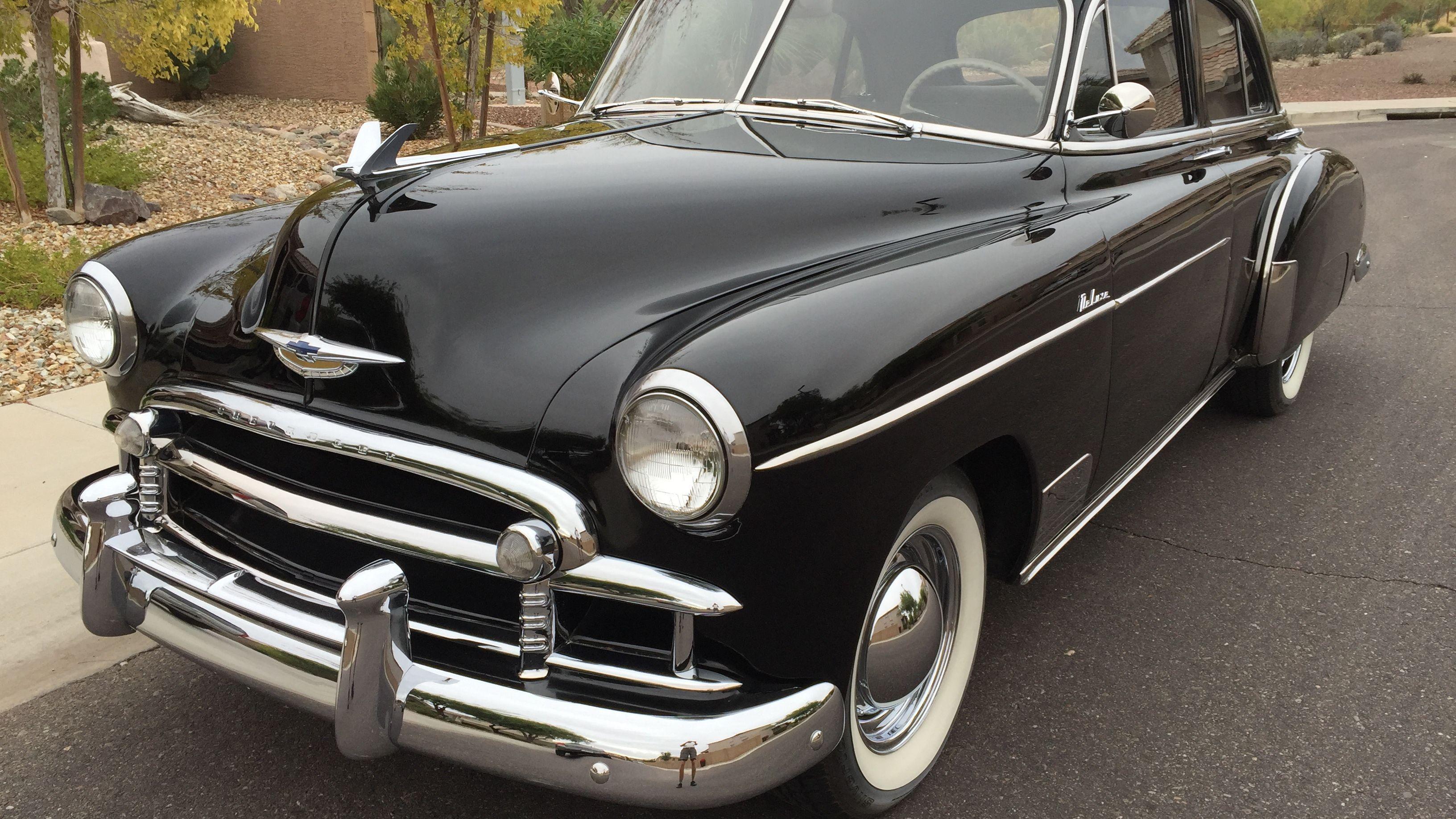 1950 Chevrolet Deluxe Sedan Classic Com