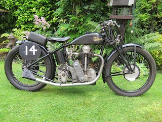 1935/C.1930 Velocette 480CC Mov/Ktt Special Racing Motorcycle