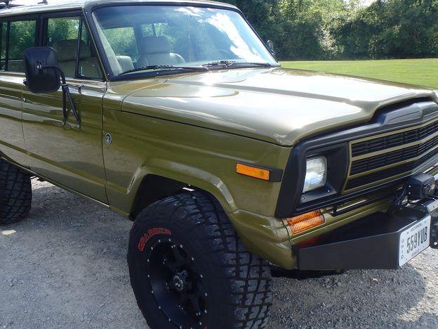 1986 Amc Jeep Grand Wagoneer