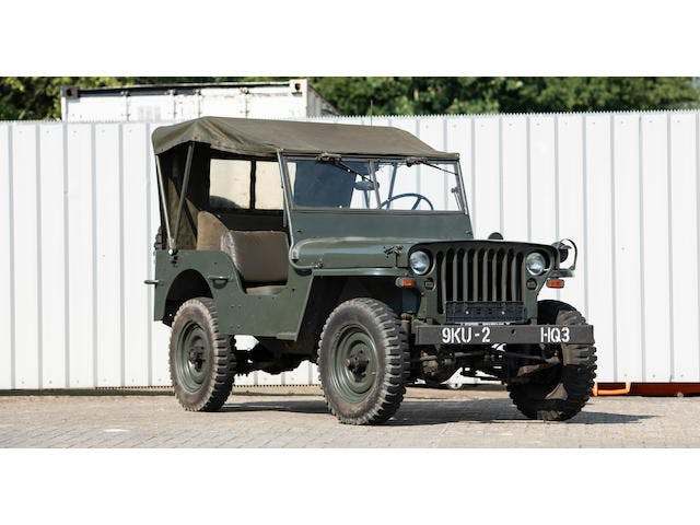 1945 'Hotchkiss M201' Military 4X4