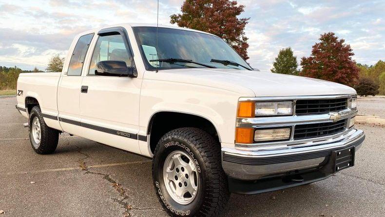 1996 Chevrolet Silverado Z71 Vin 2gcek19r6t1199605 Classic Com