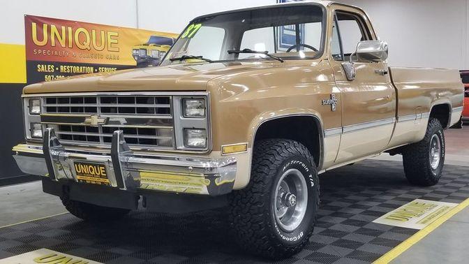 1987 Chevrolet K10 4X4