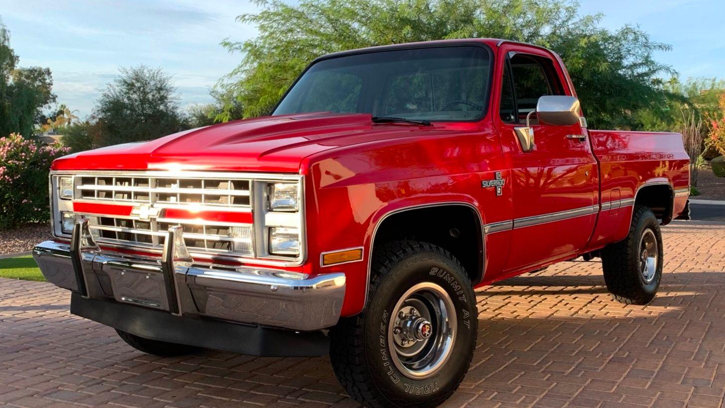 1986 Chevrolet Silverado K10
