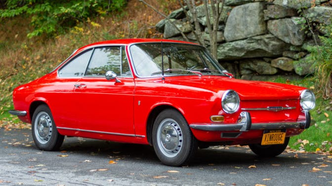 1966 Simca 1000 Coupe